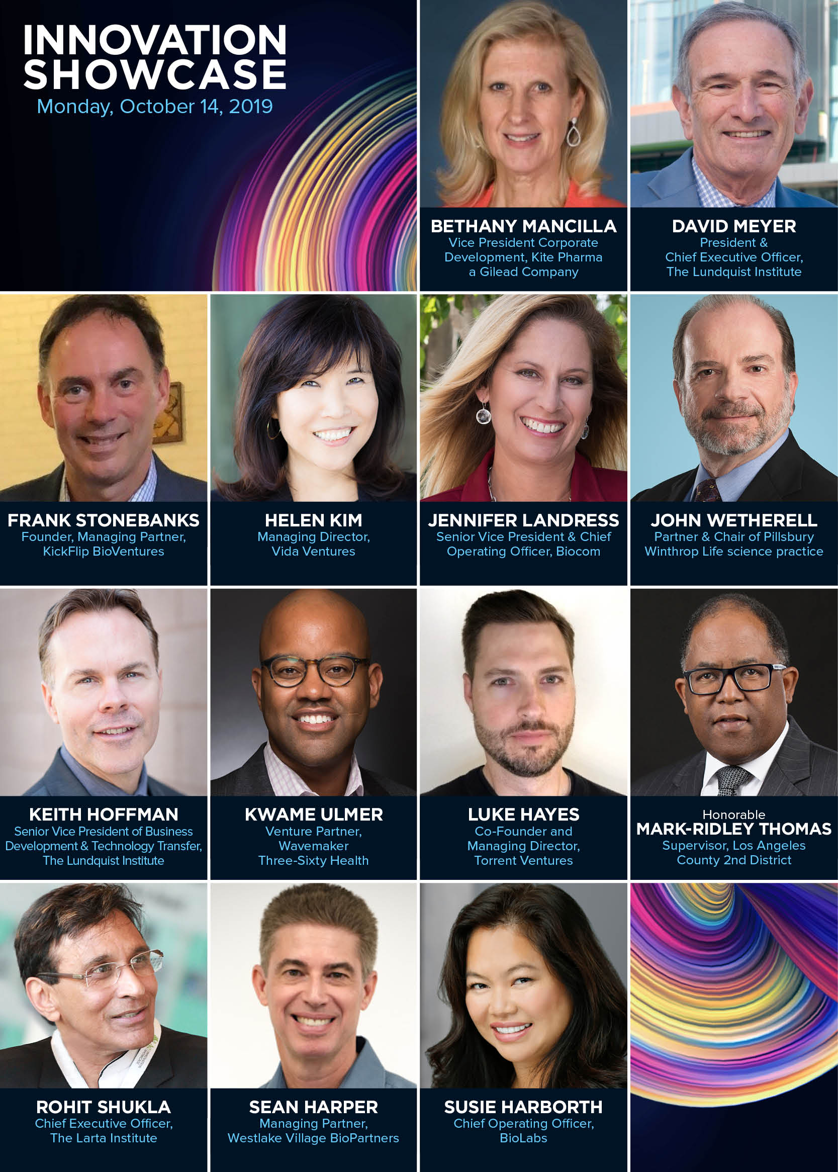 IS2019 Speakers